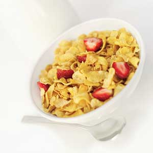 picture of a bowl of cereal