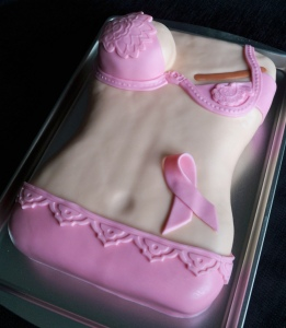 mastectomy cake