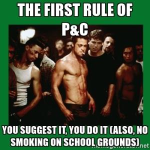 P&C meme